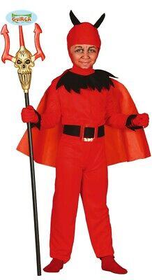 Teufel mit Umhang Halloween Kostüm für Kinder Gr. - Halloween Teufel Kostüm Für Kinder