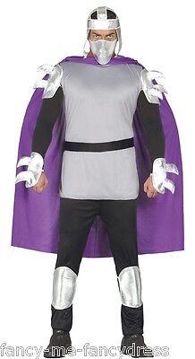 Herren 7 Stück Ninja Man Turtles Bösewicht Halloween Kostüm Kleid Outfit ()