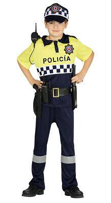 spanischer Polizist - Kostüm für Jungen Karneval Fasching - Kostüme Polizist