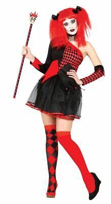 ter Circus Halloween Fancy Dress Costume Ladies Outfit 10-12 (Jester Fancy Dress Halloween)