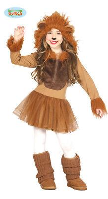 Löwe Löwin Kostüm Lion Löwenkostüm Kinder (Kind Löwe Kostüm)