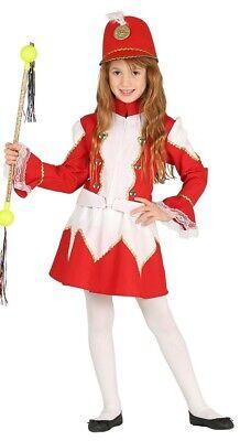 Mädchen-rot Majorette Trommel Soldaten Welttag des Buches Kostüm Kleid Outfit