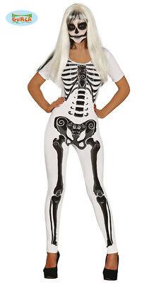 GUIRCA Costume scheletro donna halloween carnevale adulto mod. - Scheletro Kostüm