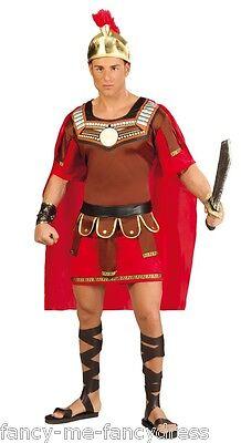 Herren Römischer Centurion Altertümlich Griechisch Gladiator Kostüm Kleid Outfit ()
