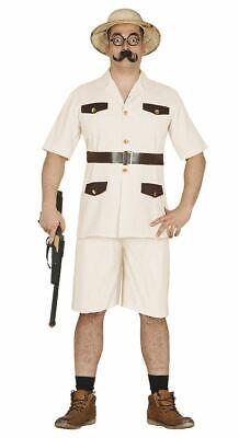 Zoo Keeper Costume Adults (Mens Safari Explorer Zoo Keeper Jungle Fancy Dress Costume Adults)