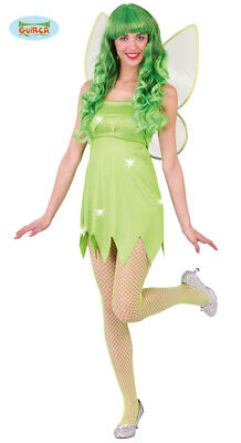 Costume Trilly Travestimento Donna Fata dei Boschi Carnevale Fatina Sexy TG S