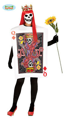 Adult Womens Halloween Queen Of Hearts Horror - Zombie Queen Of Hearts Halloween Kostüm