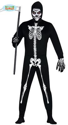 Skelett Anzug Halloween Horror Party Kostüm Herren Knochen Schwarz - Herren Weißen Anzug Kostüm