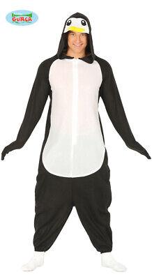 Pinguin Ganzkörperanzug für Erwachsene Unisex Tierkostüm Overall Karneval (Für Erwachsene Unisex Kostüm)