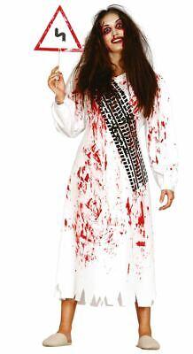 Tyre Marks Halloween Fancy Dress Costume & Sign Ladies  (Marke Halloween-kostüme)