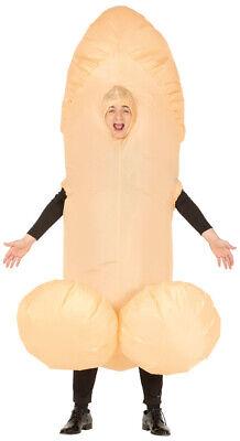 Aufblasbares Riesenpenis Kostüm für Herren Lustiges Ganzkörperkostüm - Ganzkörper Kostüme Lustig