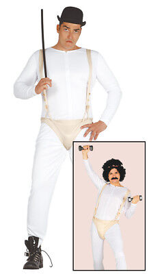 Mens Halloween Fancy Dress Costume Clockwork Orange Droog Alex Thug - Thug Costumes