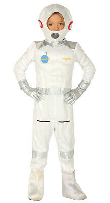 Astronaut Kostüm für Jungen - Größe 110-146 - Kinder Fasching Karneval (Astronaut Kostüm Für Jungen)