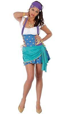 Damen Sexy Piraten Zigeuner Büchertag Halloween Kostüm Kleid - Zigeuner Outfit
