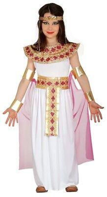 Kinder Mädchen Rosa Kleopatra Ägyptischer Pharao Geschichte Kostüm Kleid Outfit