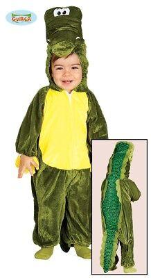 GUIRCA Krokodil Kostüm Kleinkinder Gr. 6 bis 12 Monate Gebraucht Zahn fehlt ()