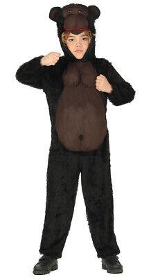 Gorilla Kostüm für Kinder - Größe 98-146 - - Affe Kostüme Für Kinder