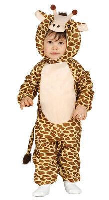 Babykostüm Giraffe Giraffenkostüm Kostüm für Kinder Tierkostüm Gr. 74-92