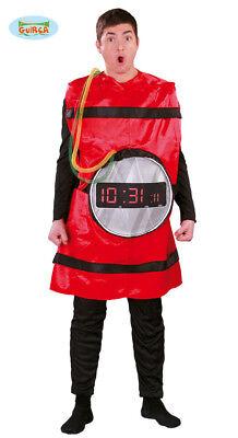 GUIRCA Costume vestito bomba esplosivo carnevale halloween adulto mod. 80624