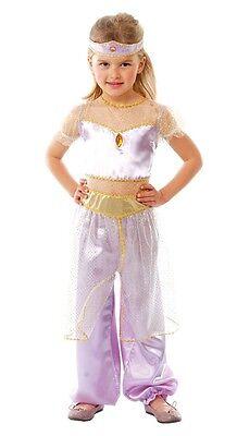 Mädchen Arabische Prinzessin Jasmin Büchertag Karneval Kostüm Kleid Outfit 5-12