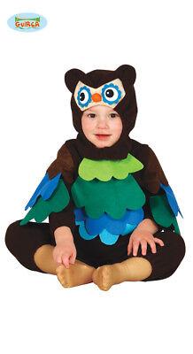 Baby Eule Kinder Kostüm Fasching Vogel Kleinkinder Unisex Karneval
