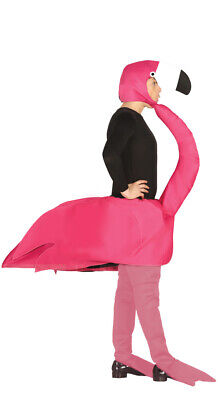 Pink Flamingo Costume Adult Full Fancy Dress Outfit Mens Ladies Bird NEW 42-44](Pink Flamingo Costumes Adults)