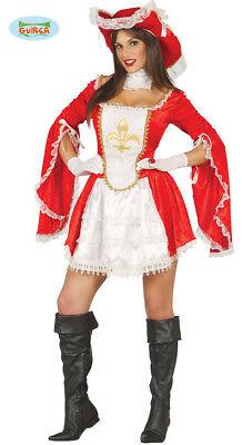 �m Kleid Damen Karneval Mittelalter (Musketiere Kostüme)