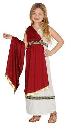 Mädchen Römisch Kostüm Kinder Kinder Königin Griechische Toga Kostüm