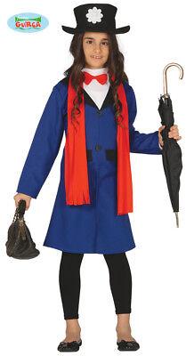 Karnevalskostüme Mary Poppins Kleid babysitter Mädchen Mod. 8846_