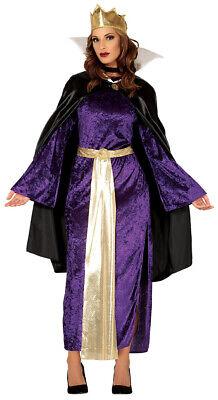 böse Königin Kostüm für Damen Größe M-L - - Böse Karneval Kostüme