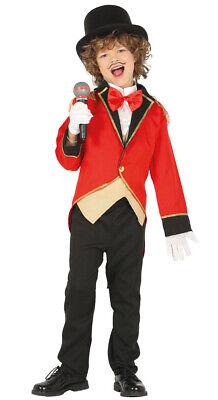 Zirkusdirektor Kostüm für Jungen - Größe 110-146 - - Kind Zirkusdirektor Kostüme