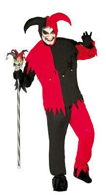 ofnarr Kostüm Halloween Outfit Joker 42-44 (Alte Joker Kostüm)