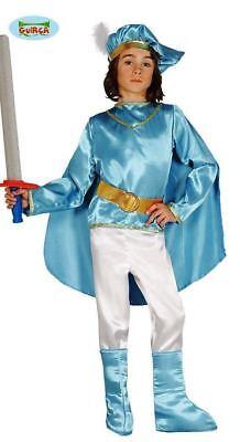 GUIRCA Costume vestito principe azzurro 5-6 anni carnevale bambino 85902