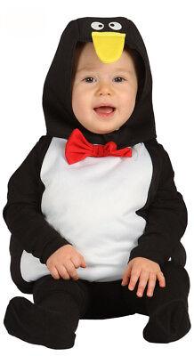 Kleinkind Pinguin Kostüm (Baby Kleinkind Pinguin Kostüm Jungen Mädchen Zoo Dschungel 6-12 & 12-24 Monate)
