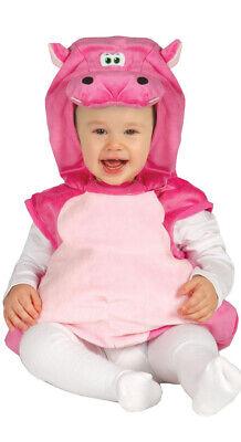 rosa Baby Nilpferd - Kostüm für Kinder Karneval - Kinder Kostüme Pferd