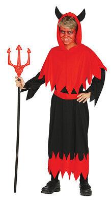 Teufel Halloween Kostüm für Kinder Teufelkostüm Jungen schwarz - Teufel Kostüm Junge