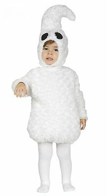Gespenst Kostüm Baby weiß Halloween Geist Kostüm Kinder  (Gespenst Geist Kostüm)