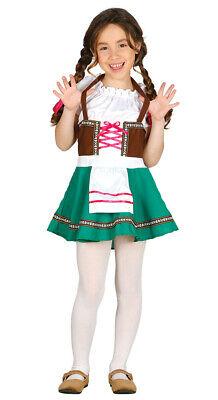 Bayrisches Mädel Dirndl Mädchenkostüm Trachtenkleid  Tirolerin Deutsche - Deutsch Dirndl Kostüme