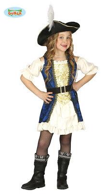 GUIRCA Costume pirata corsara piratessa carnevale bambina mod. 8334_