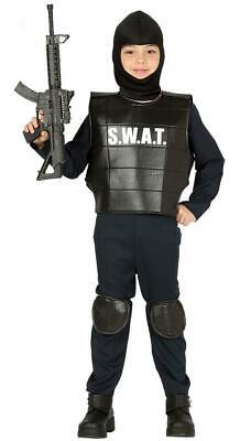 Boys SWAT Team Commander Police Cop Fancy Dress - Swat Kostüme Kid