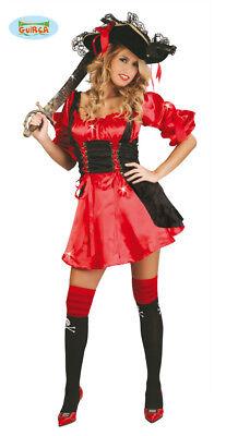 GUIRCA Costume pirata piratessa corsara carnevale donna adulto mod. 80715