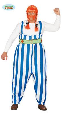 GUIRCA Costume vestito Obelix gaulois carnevale halloween uomo 110 84624
