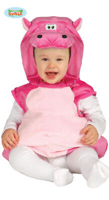Rosa Nilpferd Hippo Kostüm Hippopotemes Flusspferd Baby 10-24 - Fluss Kostüm