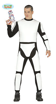 Herren Fach Soldaten Sturmtruppler Overall Star Fancy Kleid Stormtrooper Kostüm