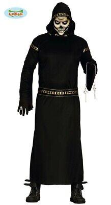 Schwarzer Mann Dämon Halloween Horror Kostüm für Herren - Dämon Kostüme Für Halloween