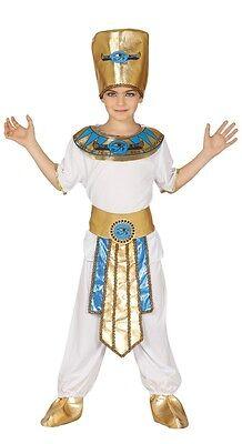 Jungen Antike Ägyptisch Lineal Pharao König Historisch Maskenkostüm 10-12 Jahre