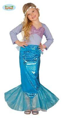 Meerjungfrau Kostüm Sirene Nixe Kinder