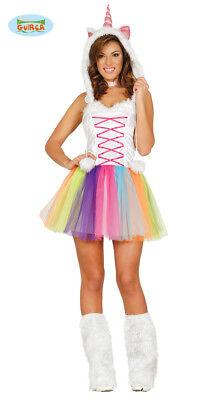 Guircasexy Einhorn Kostüm für Damen Karneval Unicorn (Einhorn Sexy Kostüme)