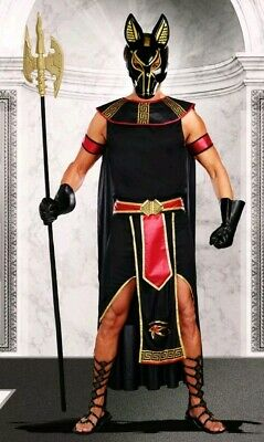 Anubis God of the Underworld Mens Costume by Dreamgirl 10251 Convertible New