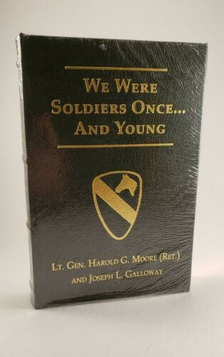 We Were Soldiers Once...And Young Moore & Galloway Flat Signed Press Signed Book